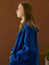 hoist over long coat (cobalt blue)