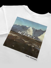 new replay campaign 1/2 tee (brown)