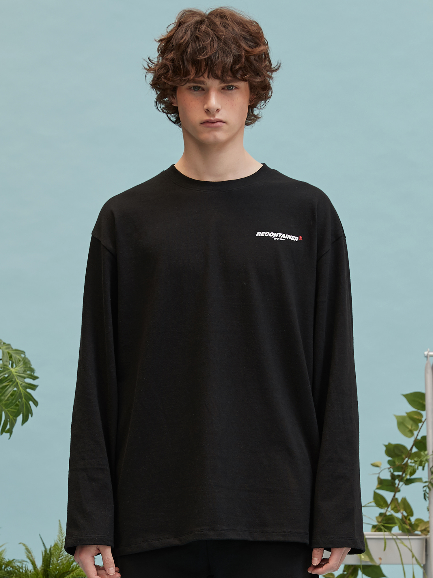 RC logo long sleeve (black)