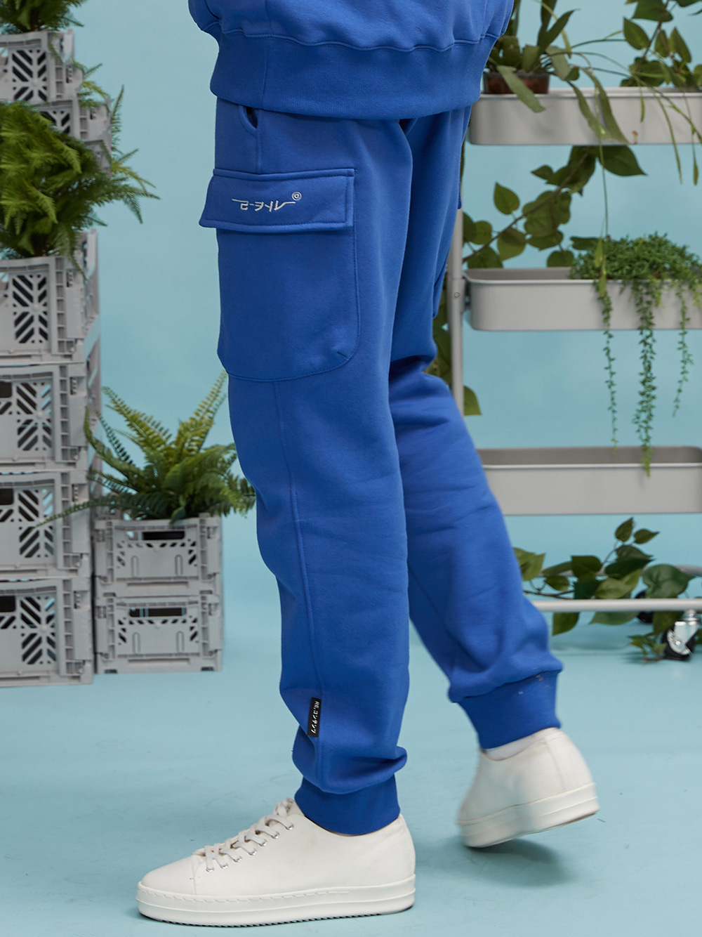 RC pocket jogger pants (cobalt blue)