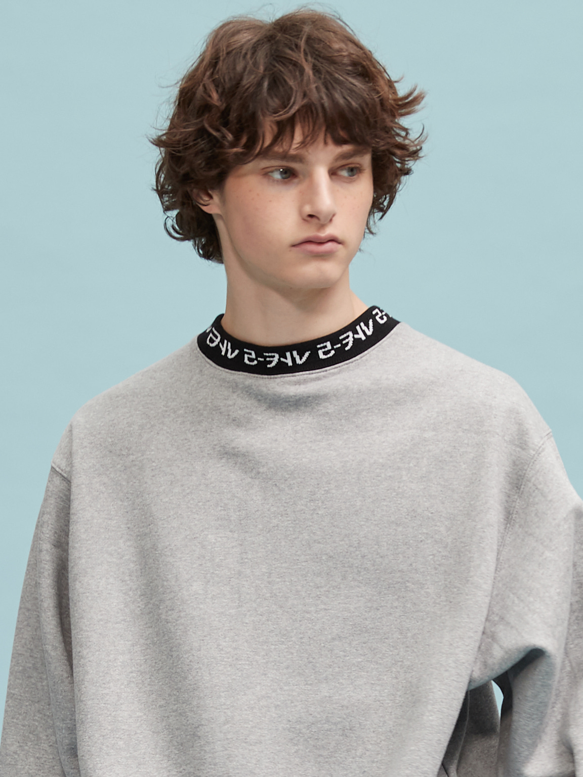 RC neck logo mtm (gray)